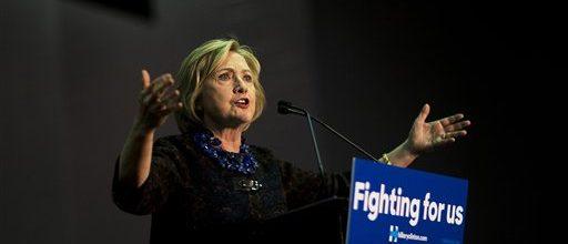 Hillary gets mixed response