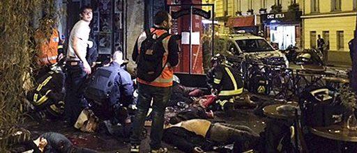 Terrorist attacks kill 120+ in Paris