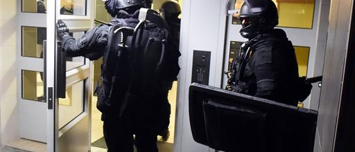 France strikes back at terrorists
