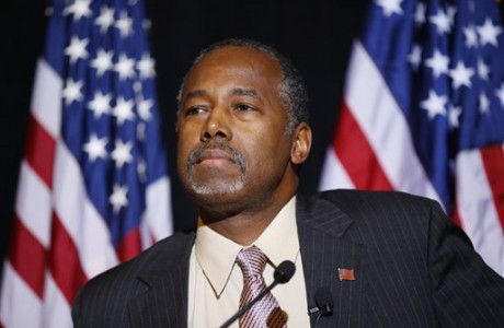 Carson in Middle East, visiting Syrian refugees