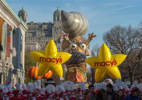 Security at Macy's Thanksgiving Parade