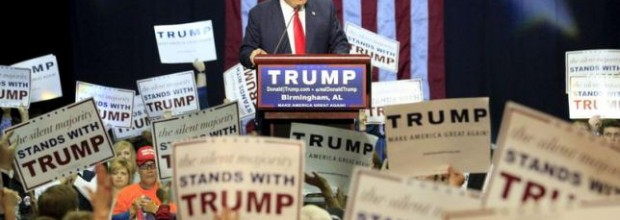 Trump drops sharply in poll