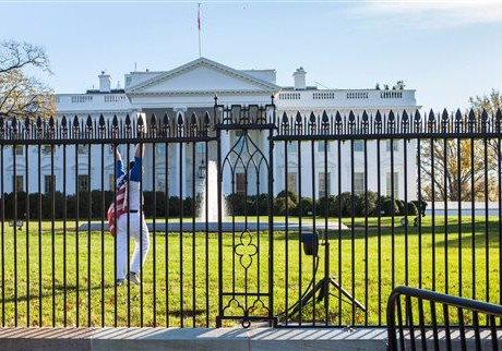 Thanksgiving lock down at White House