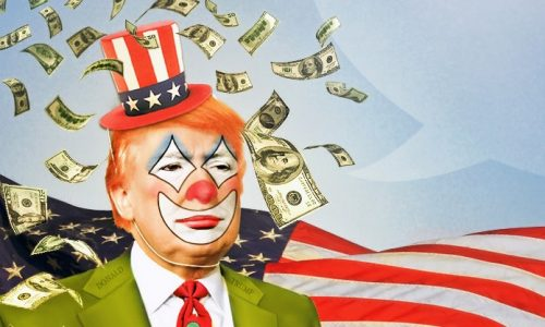 More stunts by Trump, the clown
