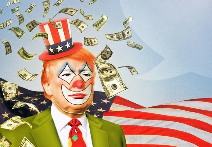 Resultado de imagem para Clown trump