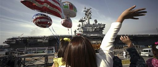 America's pacific fleet shrinking