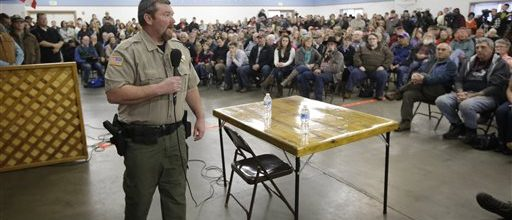 Sheriff to militia in Oregon: 'Go home'