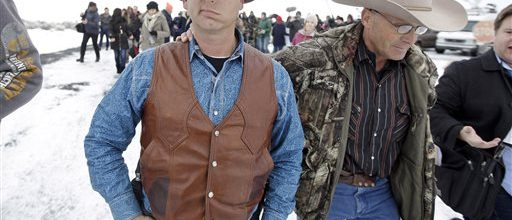 Bundys in Oregon: 'We ain't leaving'