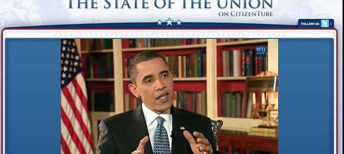 Obama turns to YouTube and more on SOTU