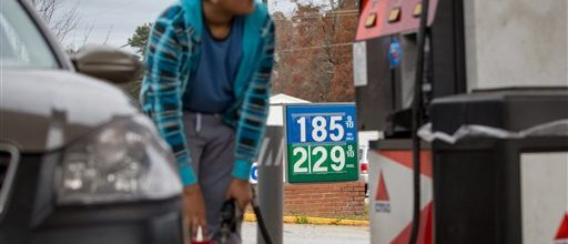Gas prices drop, so do oil company jobs