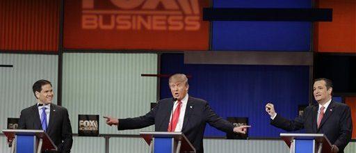 A Ted Cruz, Donald Trump show