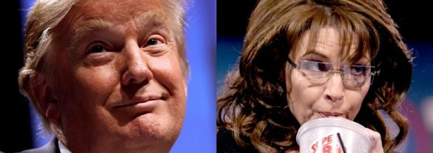 Trump and Palin: Send in the clowns