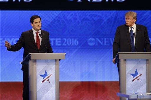 Rubio's uneven debate performance