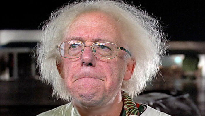 Bernie sanders the joke s on who