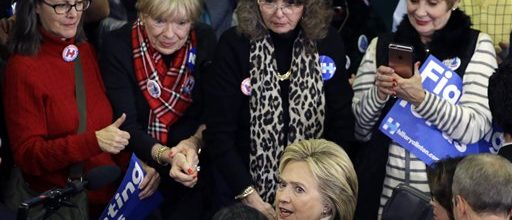 Hillary's problem with younger women