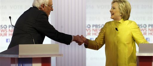 Clinton & Sanders: Agreeing to disagree