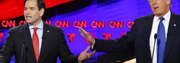 Rubio, Cruz to on attack against Trump in debate