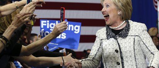 Big win gives Clinton big momentum