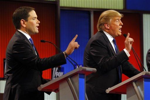 Trump Versus the Rest: Republican Race Turns Nasty