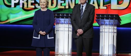 Hyperbole, not facts, in Democratic debate
