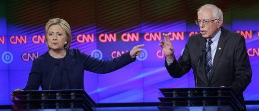 Clinton, Sanders square off in Michigan