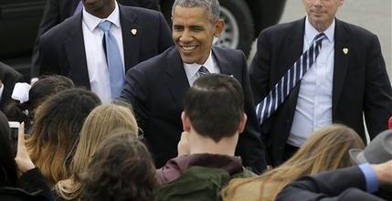 Obama praises Democrats