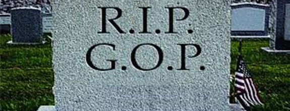 Republican Party's death:  Good riddance & goodbye
