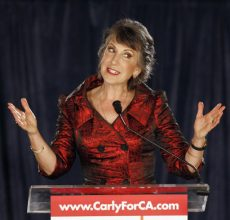 Homecoming, sort of, for Carly Fiorina