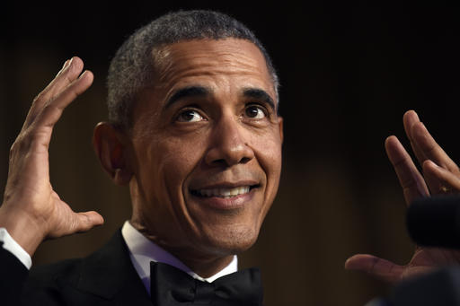 Obama bows out as comedian-in-chief