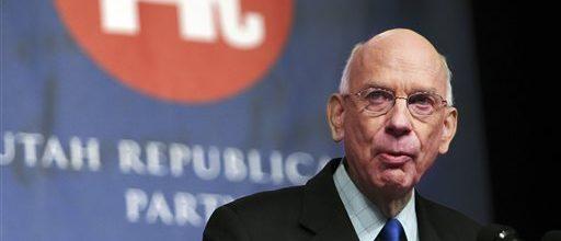 Former Sen. Bob Bennett of Utah dies