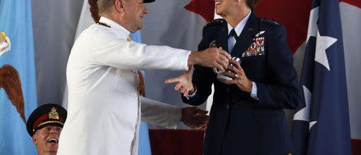 First woman to head U.S. combat unit
