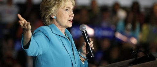 Clinton targets Tump's profiteering