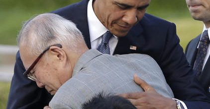 Obama in Hiroshima: 'Let's end nukes'