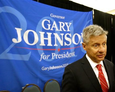 Libertarians nominate Gary Johnson