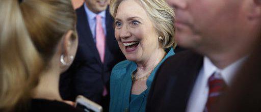 Clinton attacks Trump; Supporters cheer