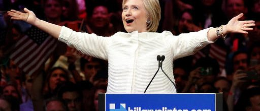 Clinton's wins cement nomination
