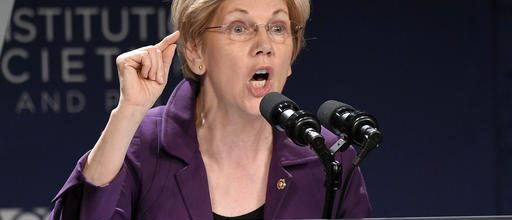 Warren backs Clinton, slams Trump