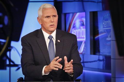 Trump Formally Announces Indiana Gov. Mike Pence As His Running Mate