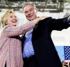 Clinton-Kaine team debuts in Florida