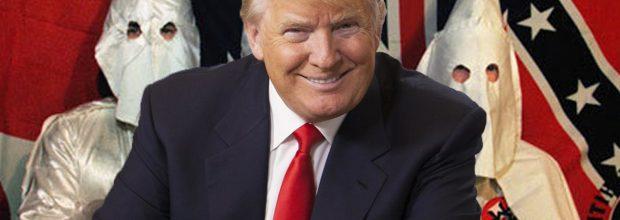 Racists cheer Trump's nomination, speech