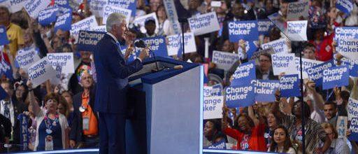 Bill Clinton tells a love story