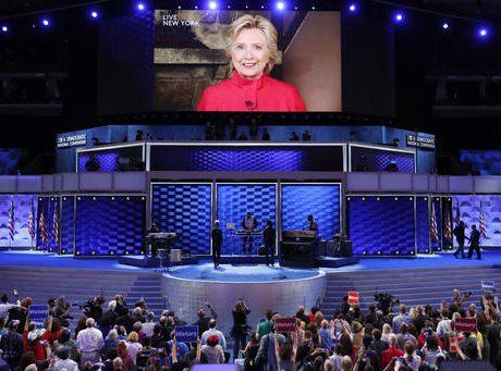 Obama lovefest for Clinton