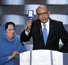 Fallen Muslim soldier's father blasts Trump
