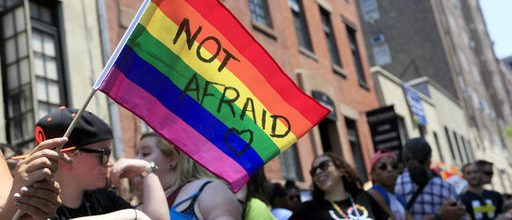 Young Americans favor LGBT rights