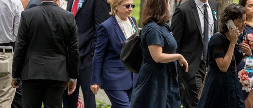 Clinton tries to blunt illness issue