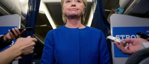 Clinton condemns 'apparent' terrorism