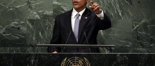 Obama's global swan song
