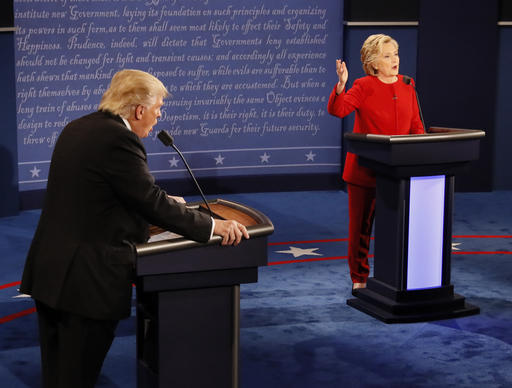 A testy, confrontational first debate