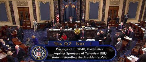 Senate overrides Obama veto