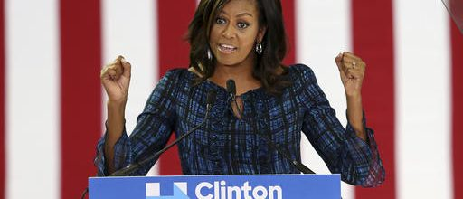 Michelle Obama: Clinton's surrogate MVP